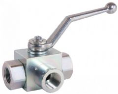 3 Way Ball Valve - L Port 400-1212